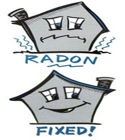Description: radon found
